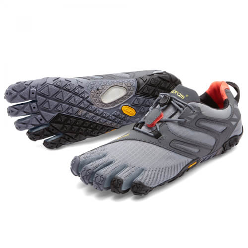 Vibram Fivefingers V-Trail Grey/Black/Orange