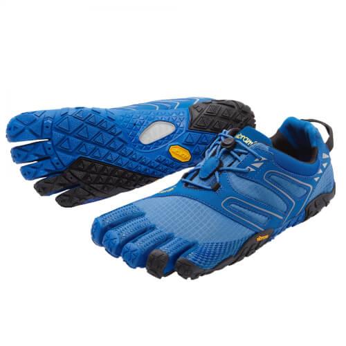 Vibram Fivefingers V-Trail blau/schwarz