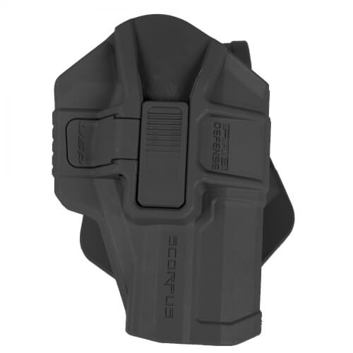 FAB Defense H&K P8 USP SR Level 2 Scorpus Holster black