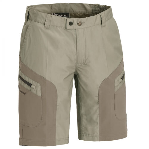 Pinewood Wildmark Stretch Shorts light khaki