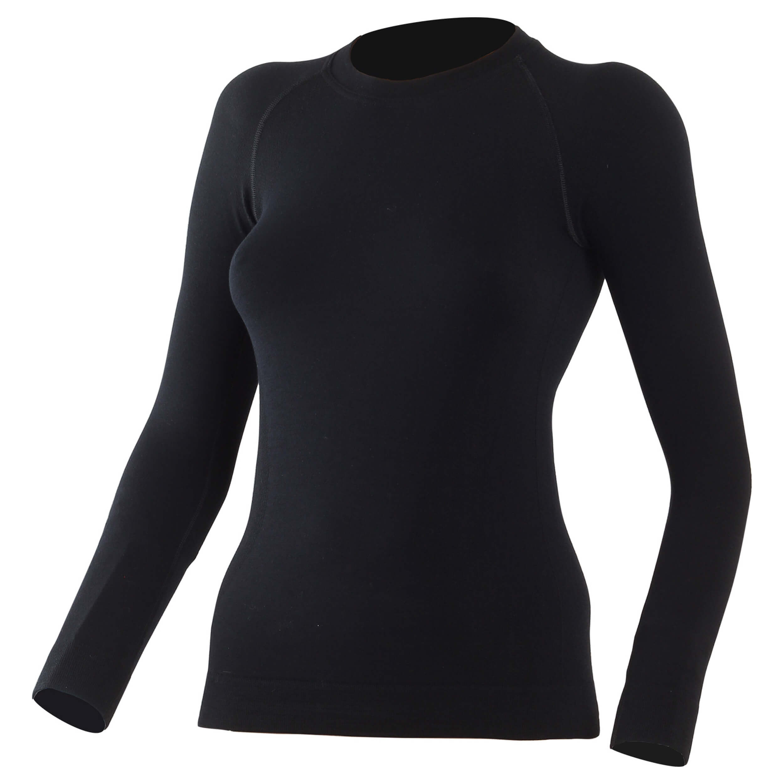 Lasting Merino Seamless WARA Shirt schwarz 200g