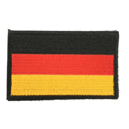 Deutschland Flagge Patch 8 x 5 cm
