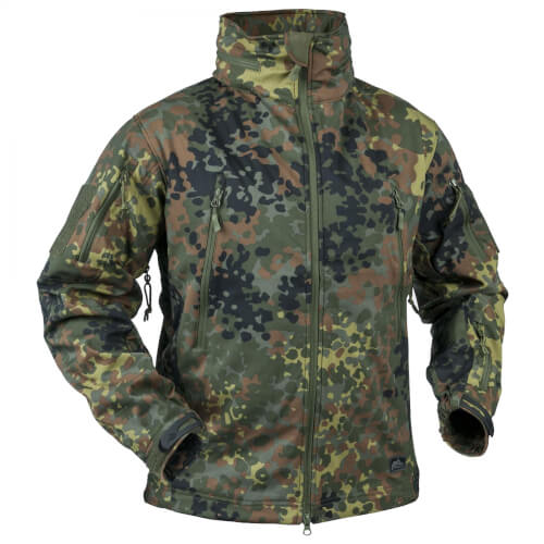 Helikon-Tex Gunfighter Softshell Jacke Flecktarn