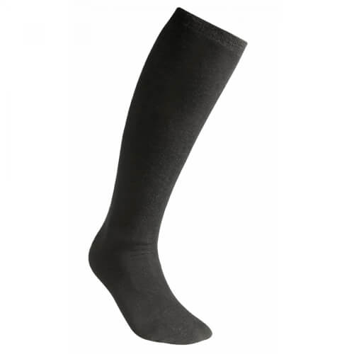 Woolpower Liner Knee-High Socke schwarz