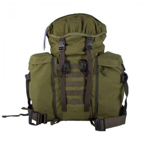 Berghaus Centurio II 30 + MMPS Seitentaschen Bundle oliv