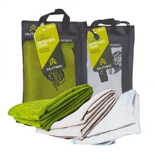 McNett Outgo Handtuch MicroNet - L grün