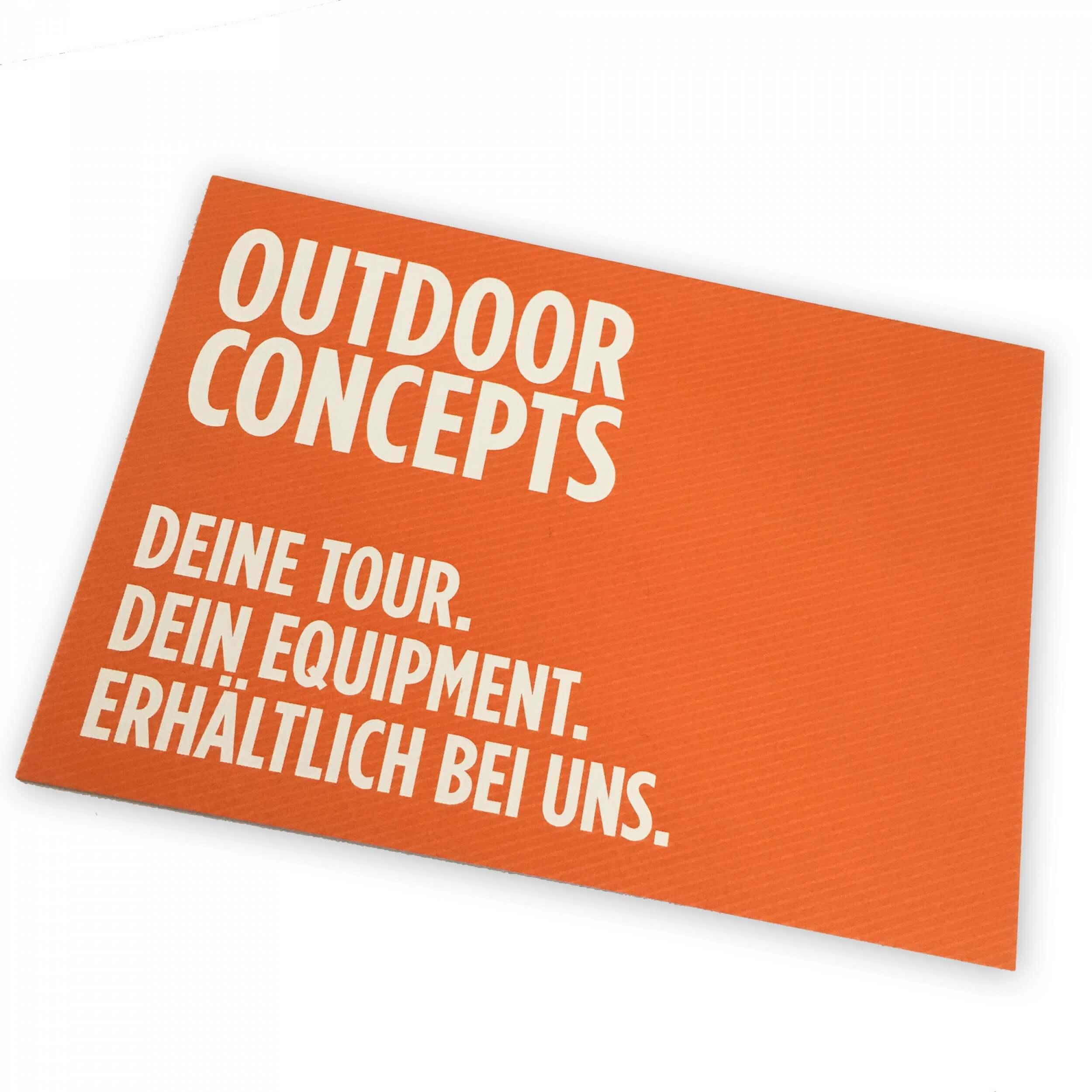 Outdoor Concepts Gutschein