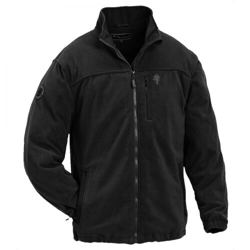 Pinewood Fleecejacke New Malone schwarz
