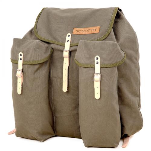 Savotta Saddle Sack 123 Rucksack Grün