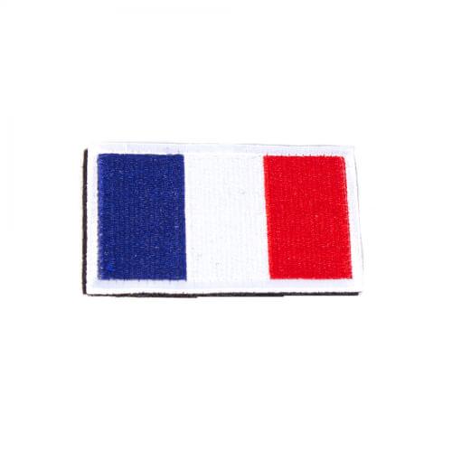 Französische Flagge Patch 8 x 5 cm