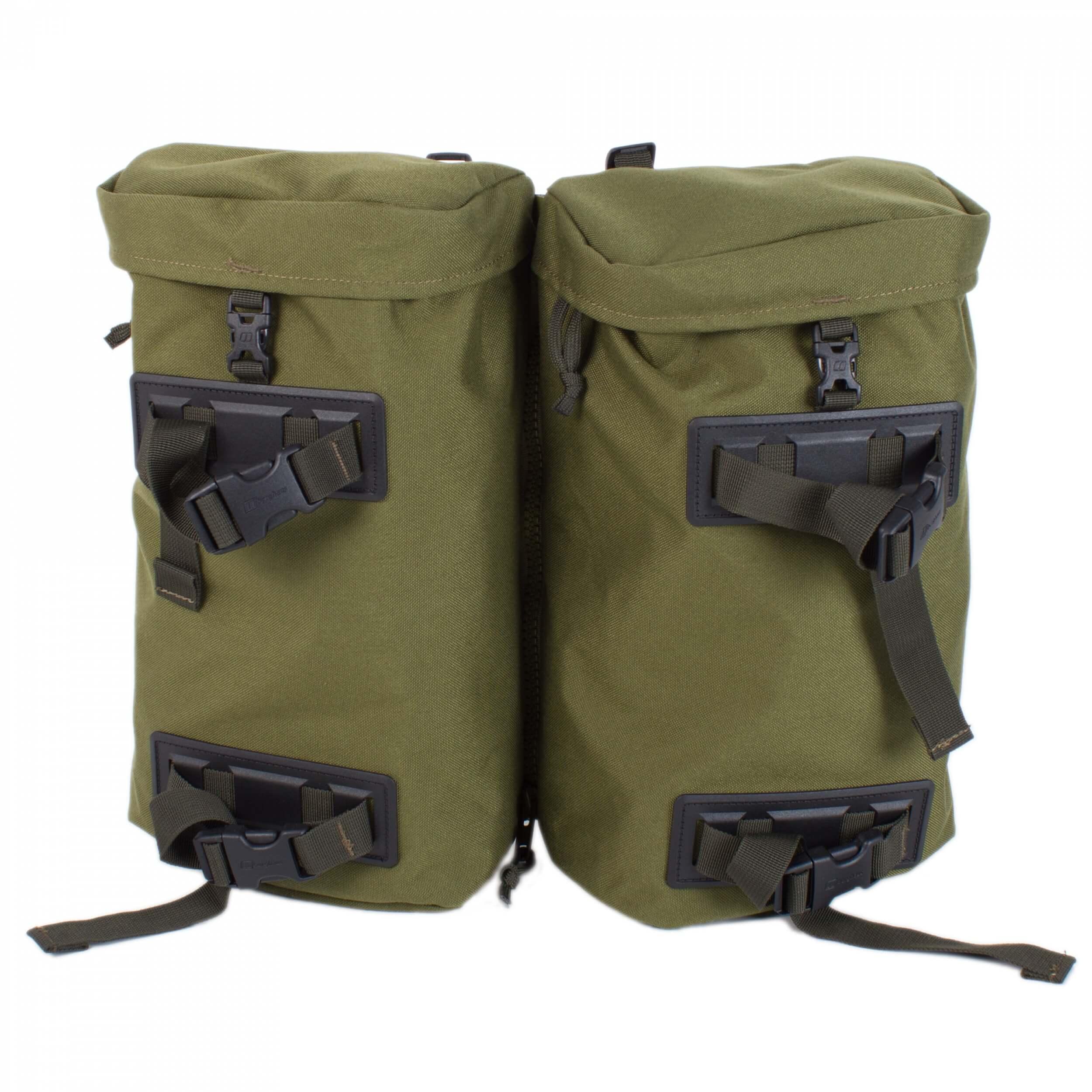 Berghaus MMPS Seitentaschen oliv 2x 10L