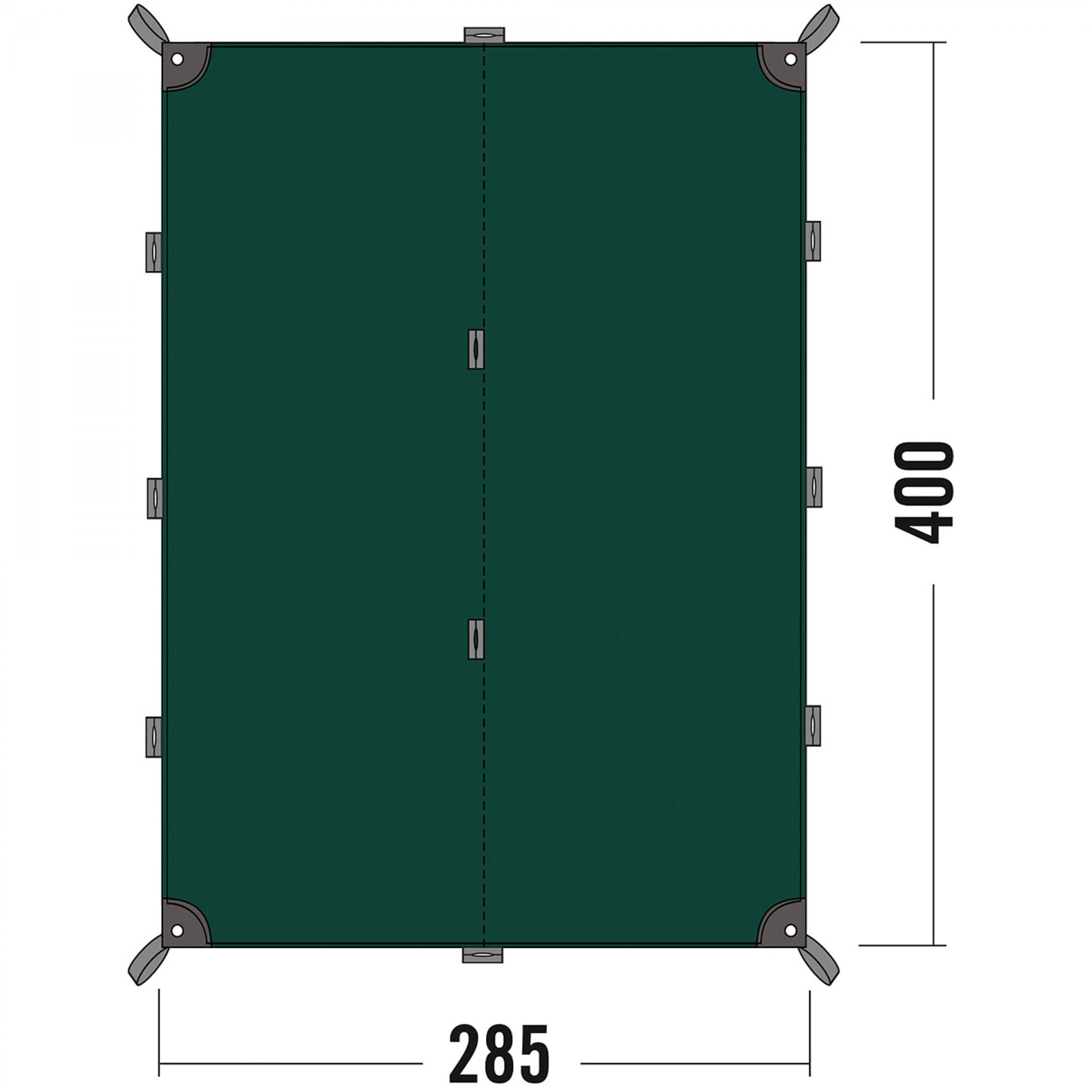 tatonka tarp 4 gr n sonnensegel au enzelt wasserdicht abdeckplane ebay. Black Bedroom Furniture Sets. Home Design Ideas
