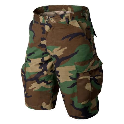 Helikon-Tex BDU Shorts - Cotton Ripstop US Woodland