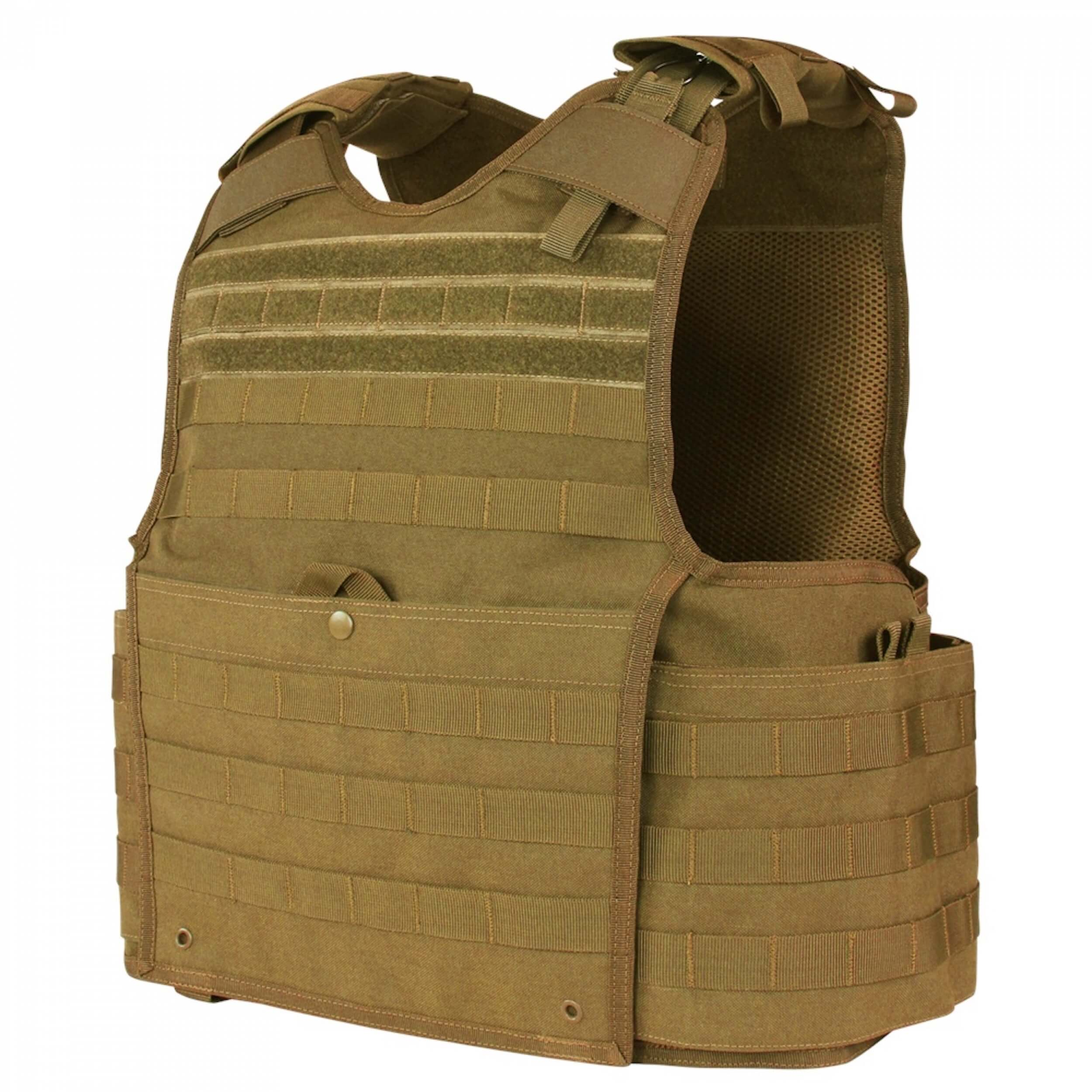 Condor Enforcer Releasable Plate Carrier coyote