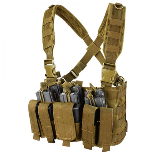 Condor Recon Chest Rig coyote brown mcr5