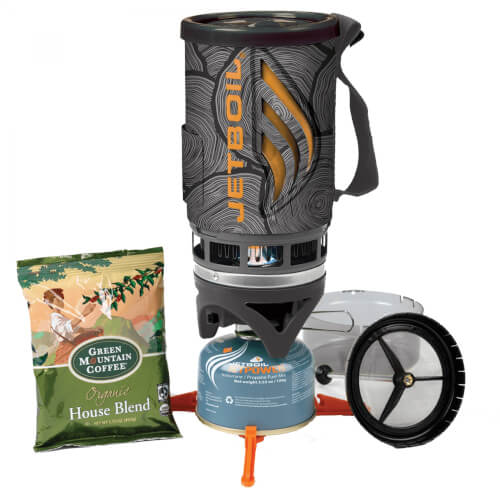 Jetboil Java Kit Coffee FLASH mit Presse