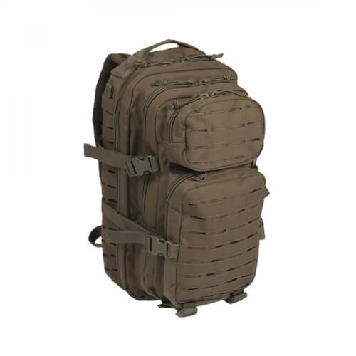 Mil-Tec US Assault Pack Laser Cut Small Oliv