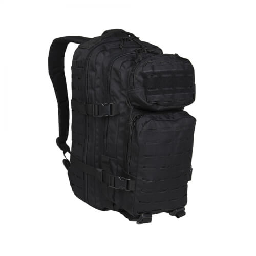 Mil-Tec US Assault Pack Laser Cut Small Schwarz