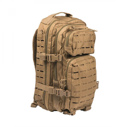 Mil-Tec US Assault Pack Laser Cut Small Coyote