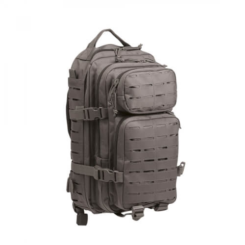 Mil-Tec US Assault Pack Laser Cut Small Urban Grey