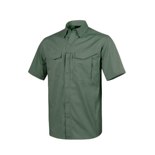 Helikon-Tex Defender Mk2 Shirt Short Sleeve - PolyCotten Ripstop olive green