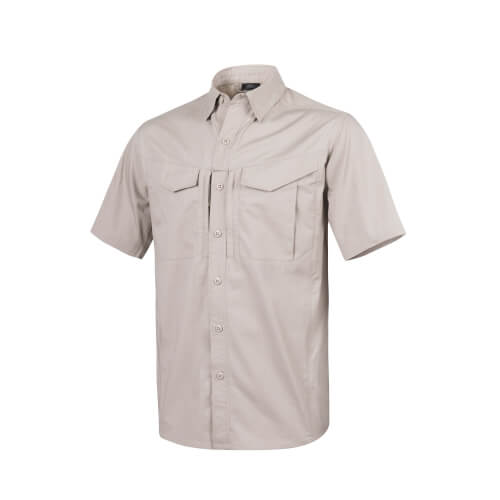 Helikon-Tex Defender Mk2 Shirt Short Sleeve - PolyCotten Ripstop khaki