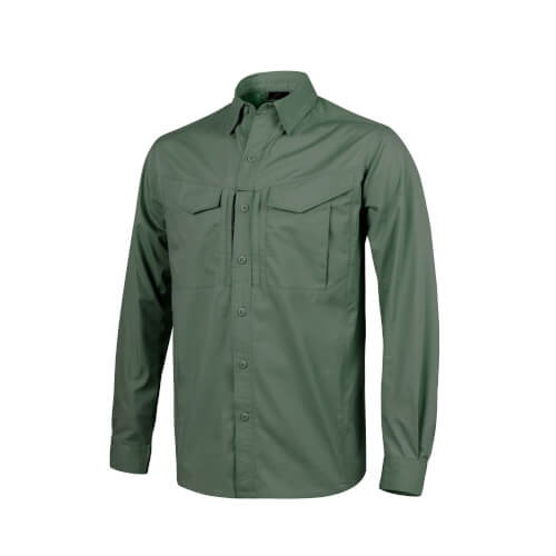 Helikon-Tex Defender Mk2 Shirt Long Sleeve - PolyCotton Ripstop olive green