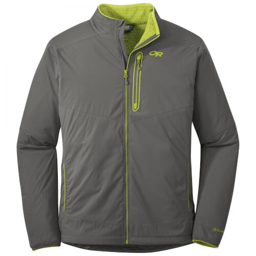 Outdoor Research Men`s Ascendant Hoody pewter-lemongrass