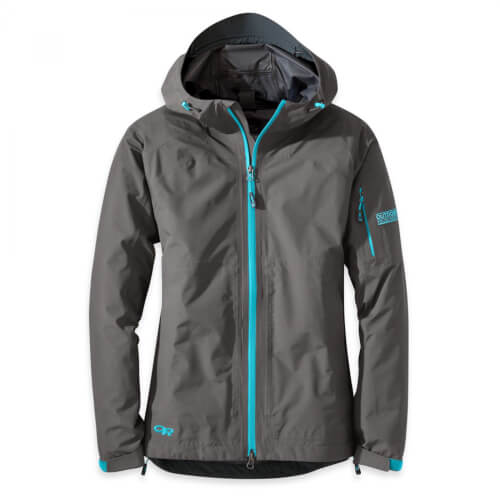 Outdoor Research Women`s Aspire Jacket Pewter/Typhoon
