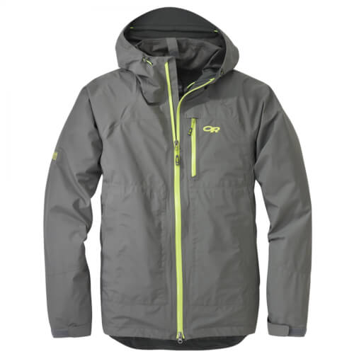 Outdoor Research Men`s Foray Jacket pewter-lemongrass
