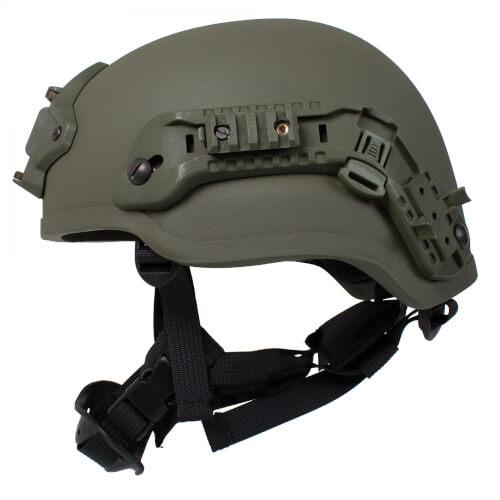 HCS Viper 2 Helm mit Rails NVG Mount und Pad oliv U6