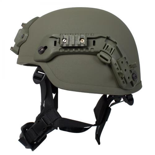 HCS Viper 1 Helm mit Rails NVG Mount und Pad oliv