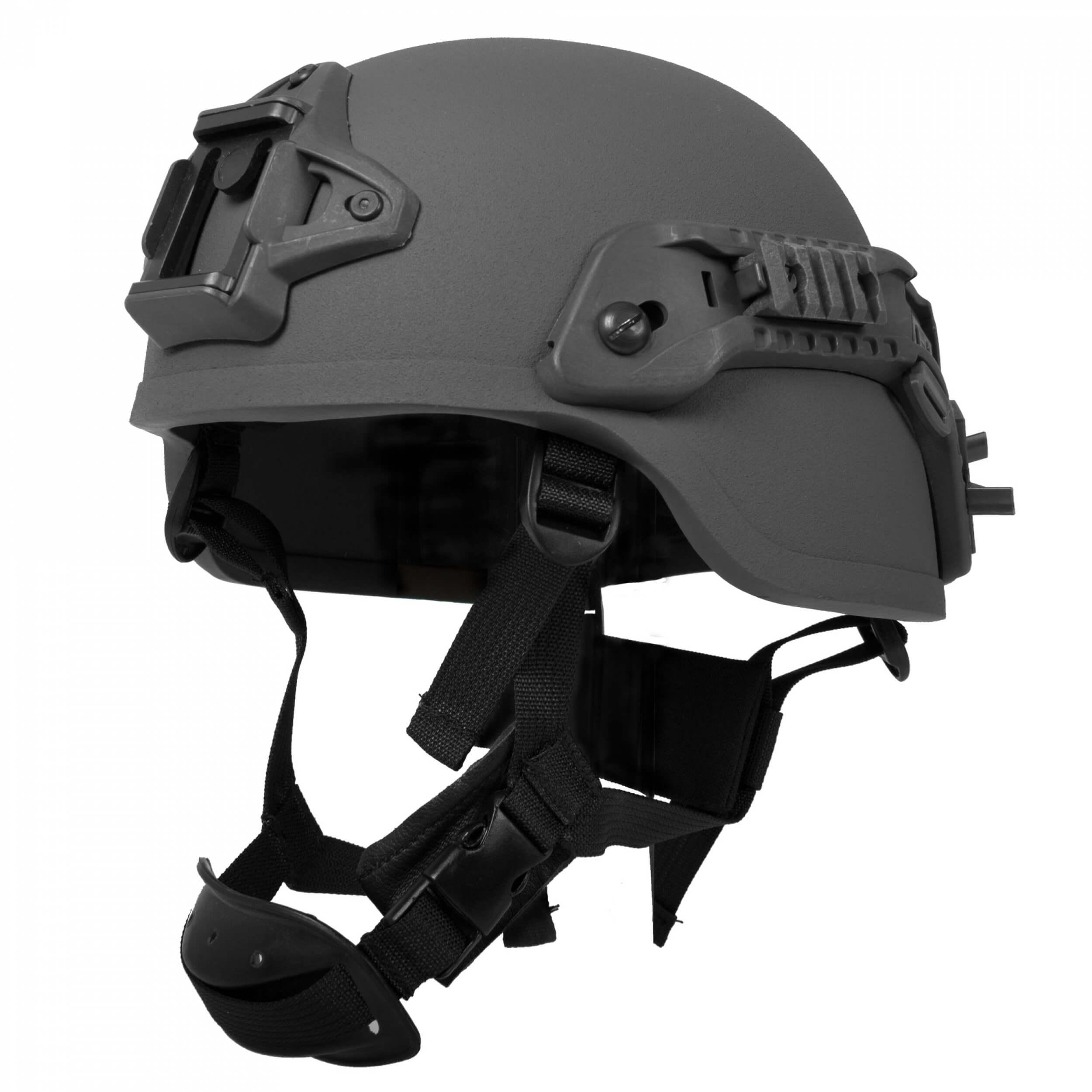 HCS Viper 1 Helm mit Rails NVG Mount und Pad schwarz