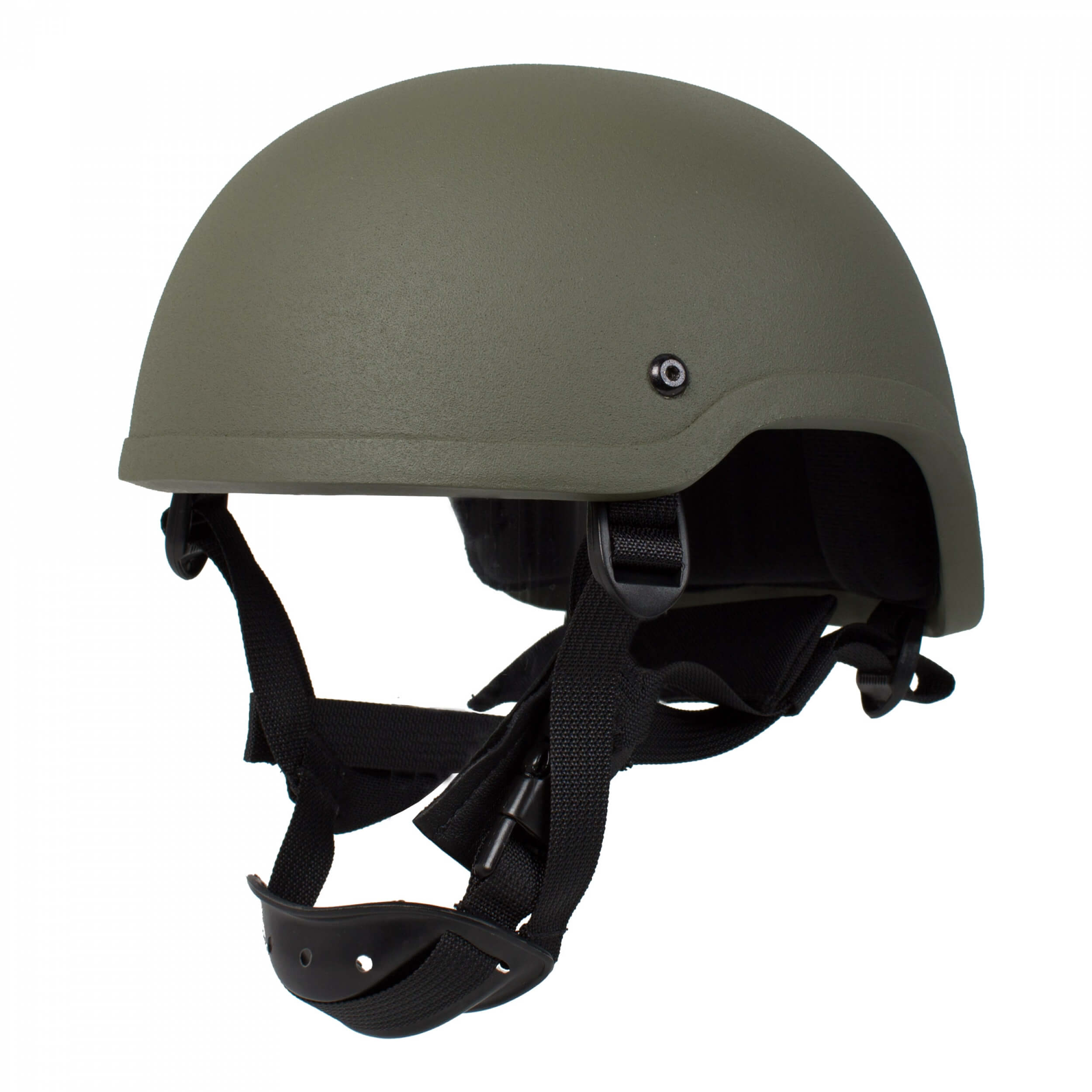 HCS Special Forces Helm mit Pads Oliv