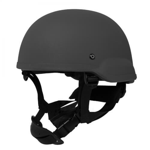 HCS Gunfighter Helm mit Pads schwarz