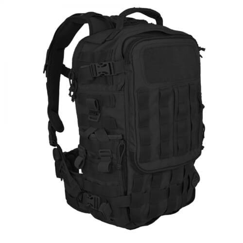 Hazard 4 SecondFront Backpack Schwarz