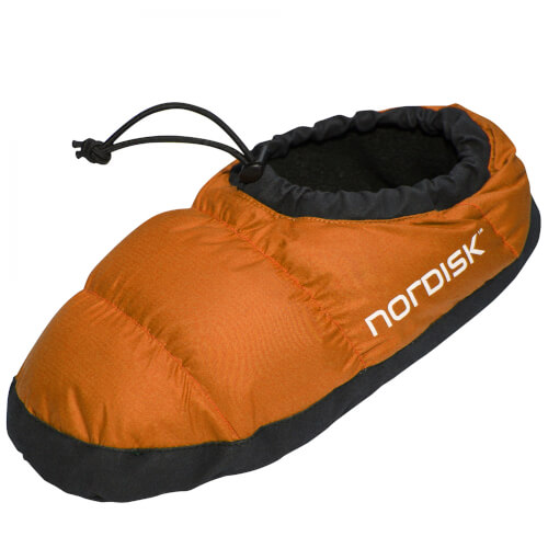 Nordisk Mos Down Shoe red orange