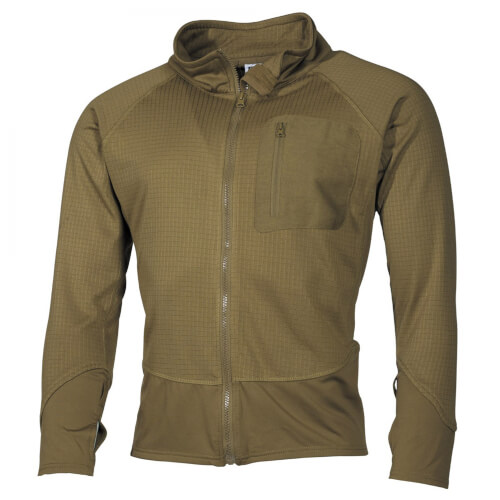 MFH US Unterziehjacke Tactical coyote
