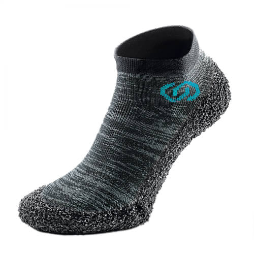 Skinners Sock Shoes Metal Grey