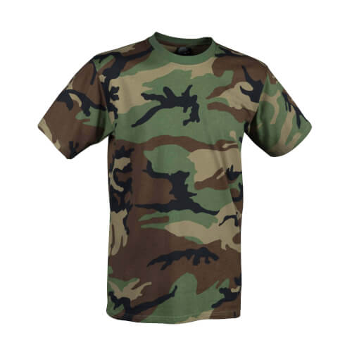 Helikon-Tex T-Shirt - Cotton US Woodland