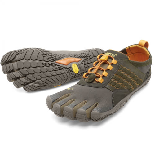 VIBRAM Fivefingers Trek Ascent Dark Green Pumpkin