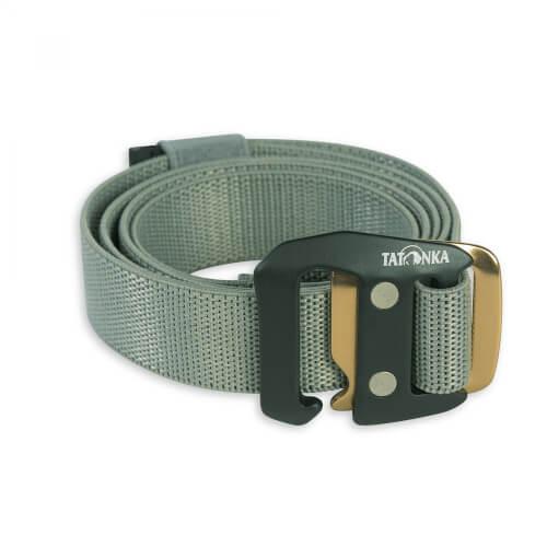 614537b34bbfe2 Tatonka Stretch Belt 25mm warm grey