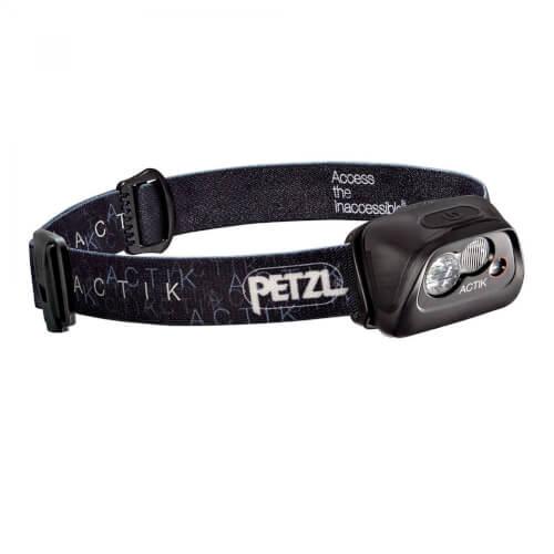 Petzl Stirnlampe ACTIK schwarz