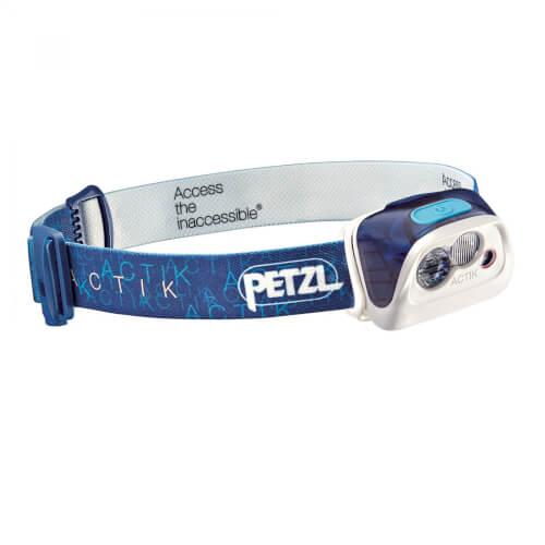 Petzl Stirnlampe ACTIK blau/weiß