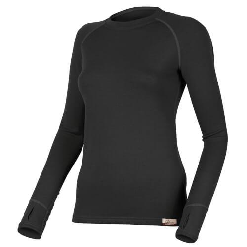 Lasting Merino Seamless LENA Shirt schwarz 260g