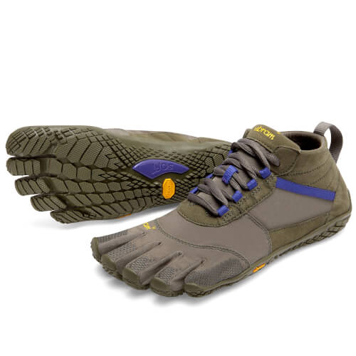 VIBRAM FiveFingers V-Trek Damen Military/Purple