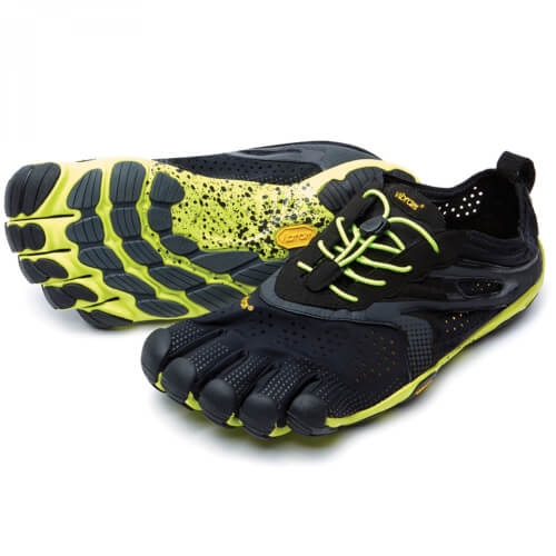 VIBRAM Fivefingers V-Run Black/Yellow