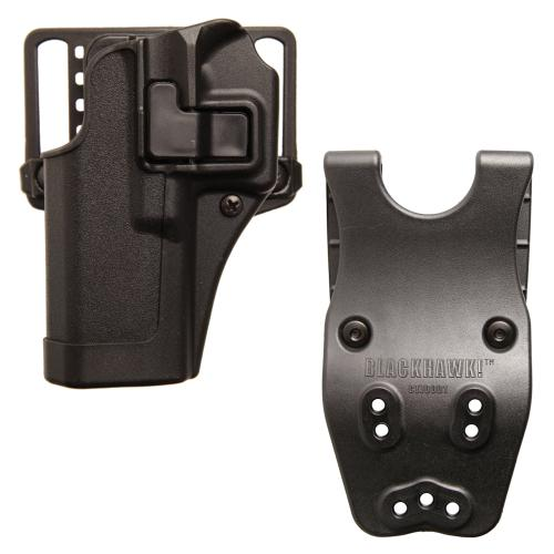 Blackhawk CQC Holster CQC H&K P30 incl. Jacket Slot Duty Belt Loop Bundle