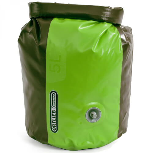 Ortlieb Packsack PD350 m. Vent olive-lime