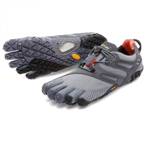 Vibram Fivefingers V-Trail Damen Grau/schwarz/Orange